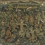 4 バリ島絵画の美しさに感動!伝統的技法は一見の価値あり